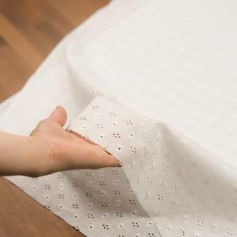 コットン×サークル(オフホワイト)×ローン刺繍 サムネイル5
