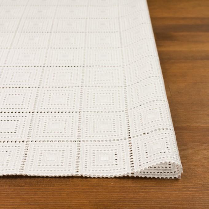 コットン×スクエア(オフホワイト)×ローン刺繍 イメージ3