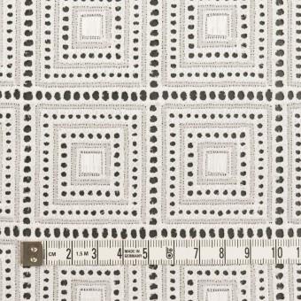コットン×スクエア(オフホワイト)×ローン刺繍 サムネイル4
