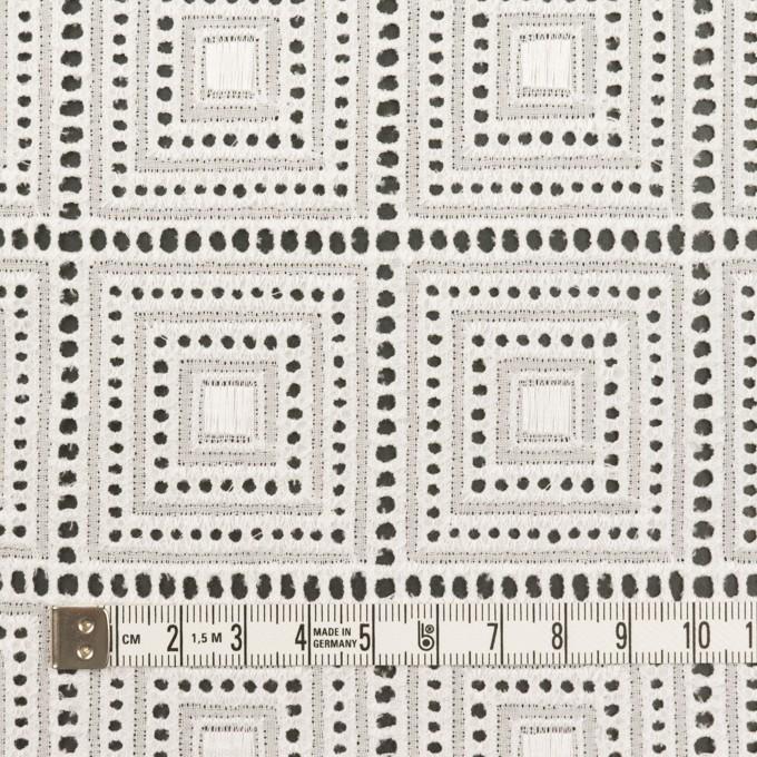 コットン×スクエア(オフホワイト)×ローン刺繍 イメージ4