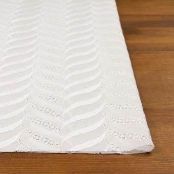 コットン×リーフ(ホワイト)×ボイル刺繍_全2色 サムネイル3