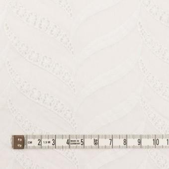 コットン×リーフ(ホワイト)×ボイル刺繍_全2色 サムネイル4