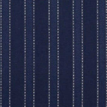コットン×ストライプ(プルシアンブルー)×サテンジャガード サムネイル1