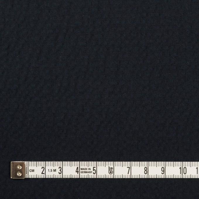 コットン&ポリウレタン×無地(ダークネイビー)×サッカーストレッチ イメージ4