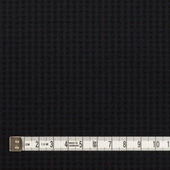 ポリエステル&ポリウレタン×無地(ダークネイビー)×サッカーストレッチ サムネイル4