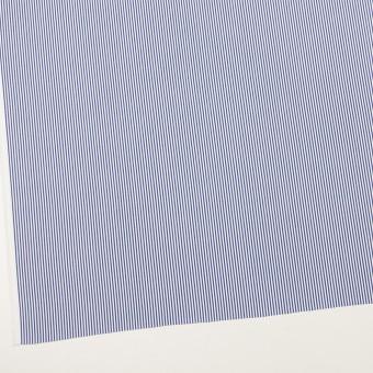 コットン×ストライプ(ブルー)×ブロード サムネイル2