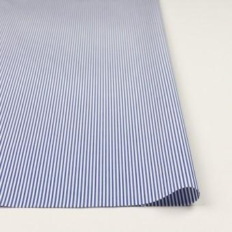 コットン×ストライプ(ブルー)×ブロード サムネイル3