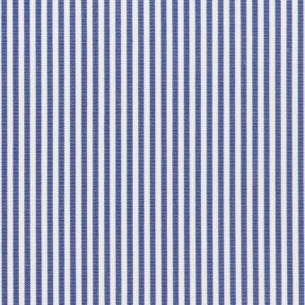【150cmカット】コットン×ストライプ(ブルー)×ブロード