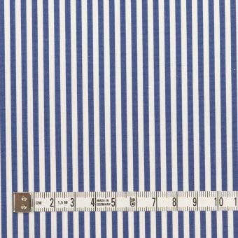コットン×ストライプ(ブルー)×ブロード_全3色 サムネイル4