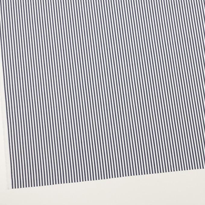 コットン×ストライプ(ダークネイビー)×ブロード_全3色 イメージ2