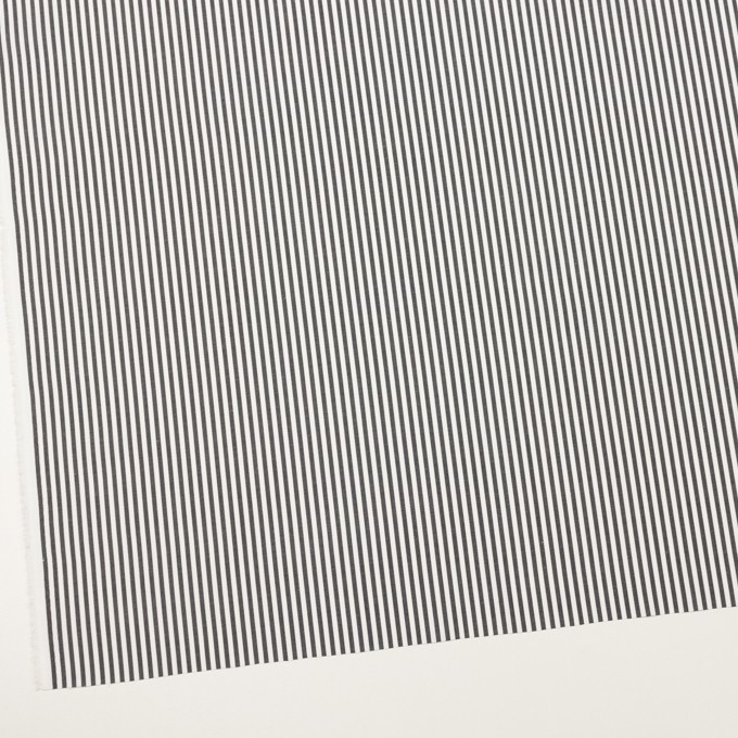 コットン×ストライプ(チャコール)×ブロード_全3色 イメージ2