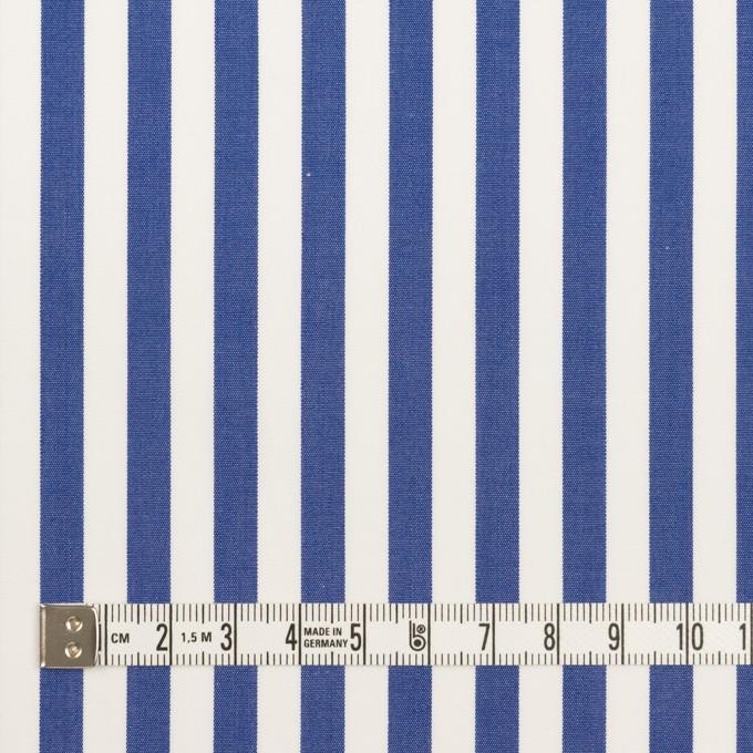 コットン×ストライプ(ブルー)×ブロード_全3色 イメージ4