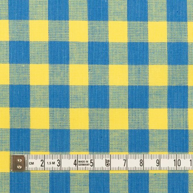コットン×チェック(イエロー&ブルー)×シーチング イメージ4