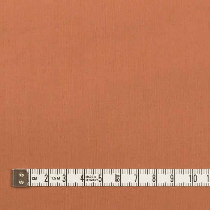 コットン&ポリウレタン×無地(レンガ)×タイプライター(高密ローン)・ストレッチ_全2色 イメージ4