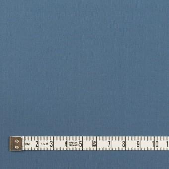コットン&ポリウレタン×無地(アッシュブルー)×タイプライター(高密ローン)・ストレッチ_全2色 サムネイル4