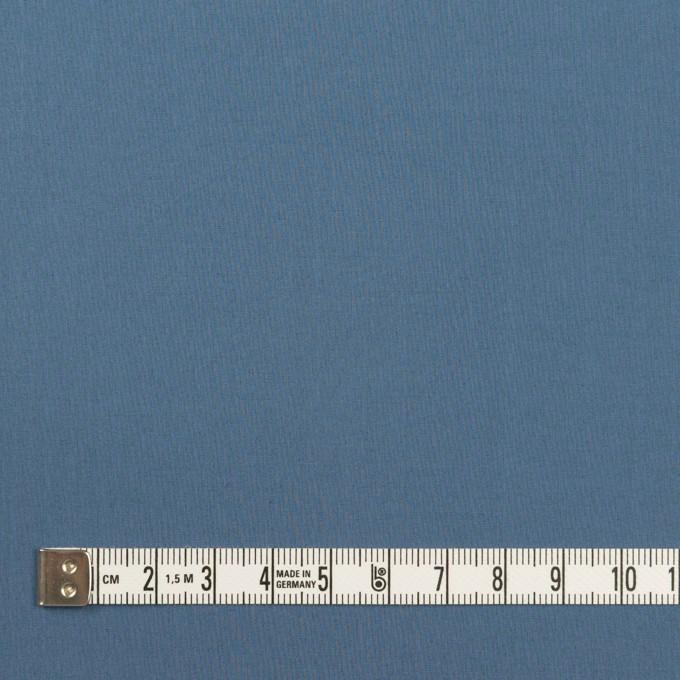 コットン&ポリウレタン×無地(アッシュブルー)×タイプライター(高密ローン)・ストレッチ_全2色 イメージ4