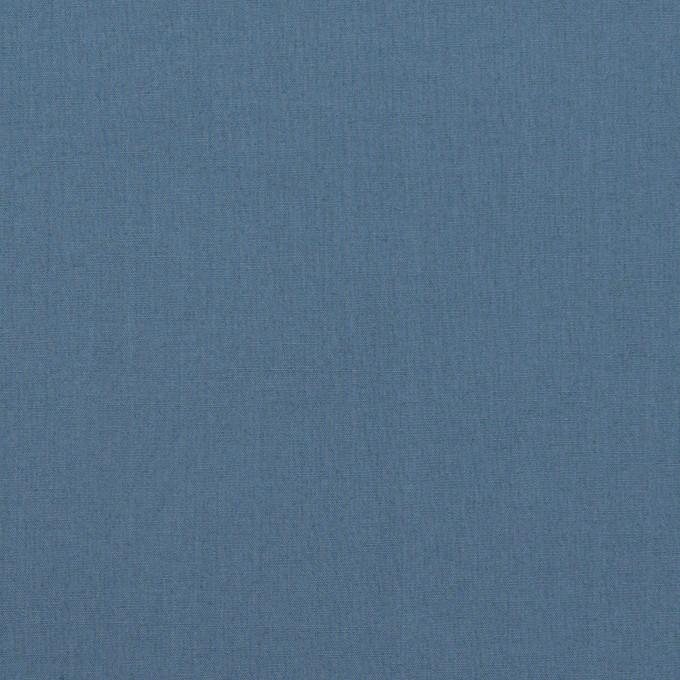 コットン&ポリウレタン×無地(アッシュブルー)×タイプライター(高密ローン)・ストレッチ_全2色 イメージ1