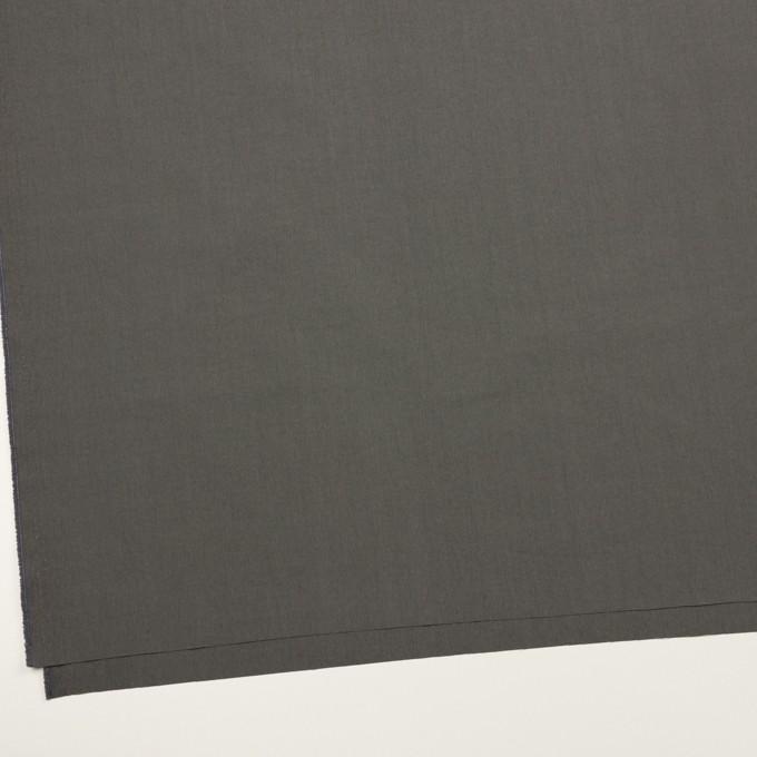 コットン&ナイロン×無地(チャコールグレー)×タイプライター(高密ローン) イメージ2