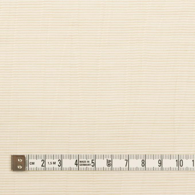 コットン×ボーダー(ベージュ)×ボイルワッシャー_全4色 イメージ4
