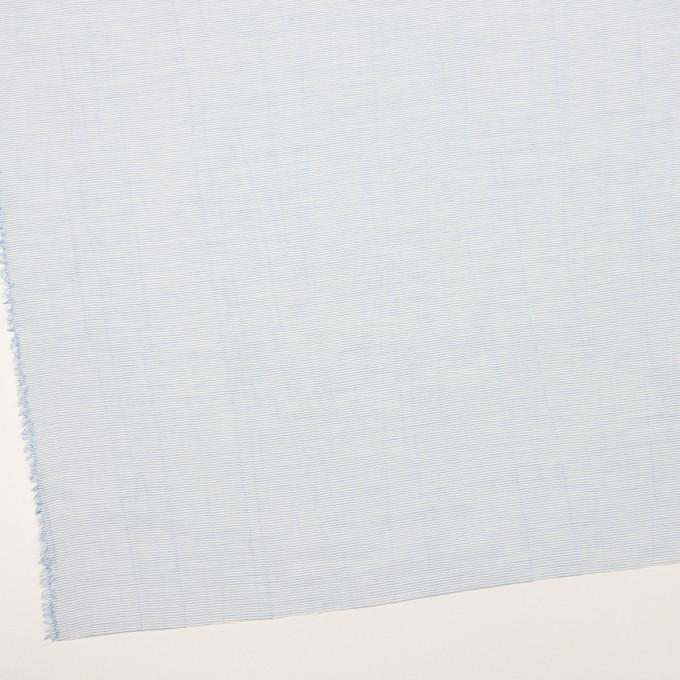 コットン×ボーダー(サックス)×ボイルワッシャー_全4色 イメージ2