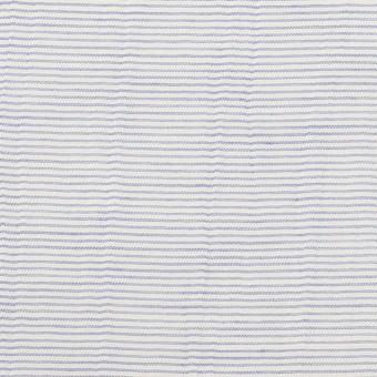 コットン×ボーダー(サックス)×ボイルワッシャー_全4色