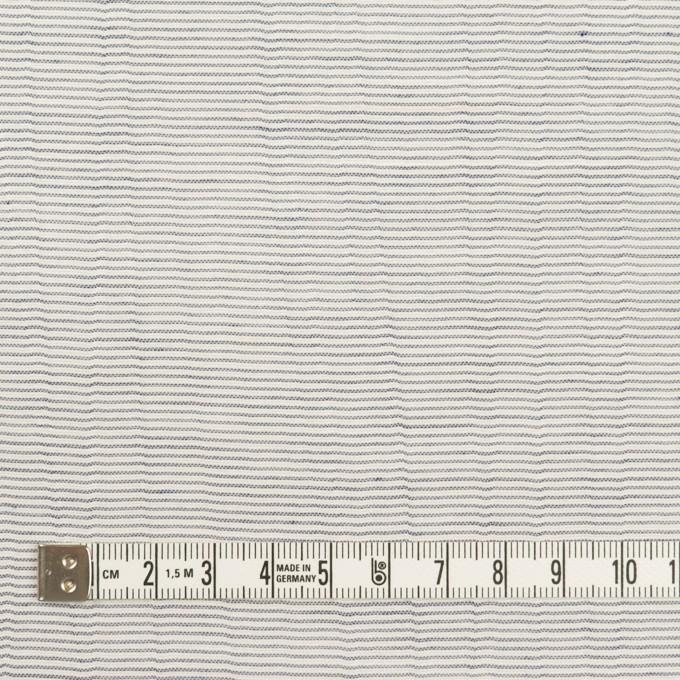 コットン×ボーダー(ネイビー)×ボイルワッシャー_全4色 イメージ4