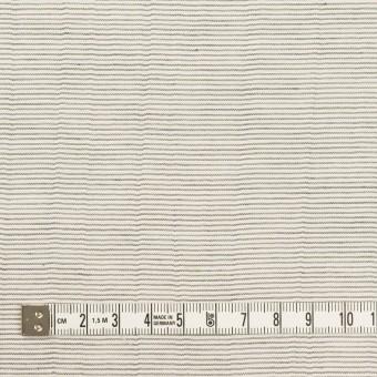 コットン×ボーダー(チャコール)×ボイルワッシャー_全4色 サムネイル4