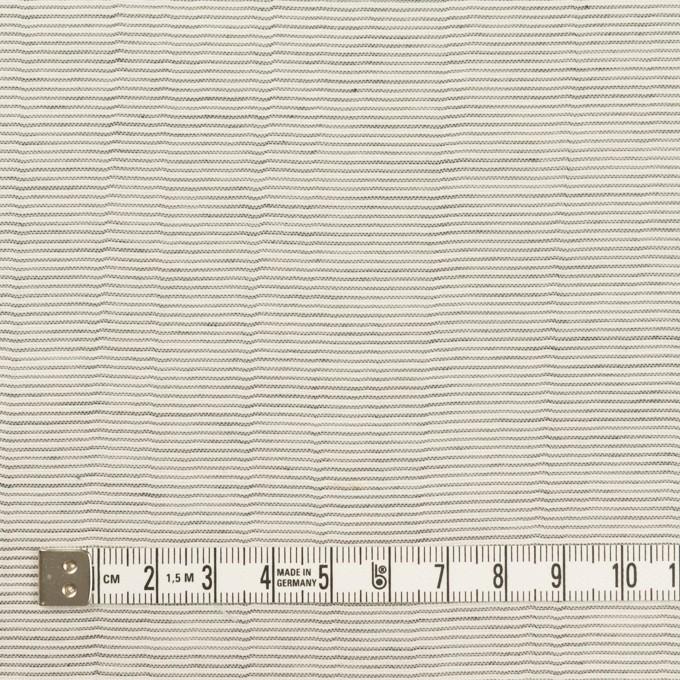 コットン×ボーダー(チャコール)×ボイルワッシャー_全4色 イメージ4