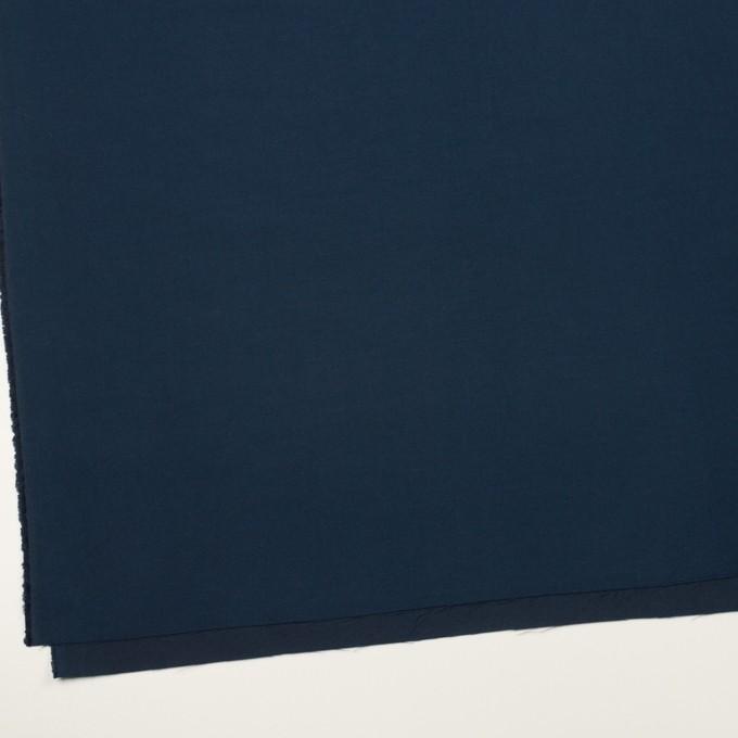 コットン&シルク×無地(ネイビー)×二重織 イメージ2