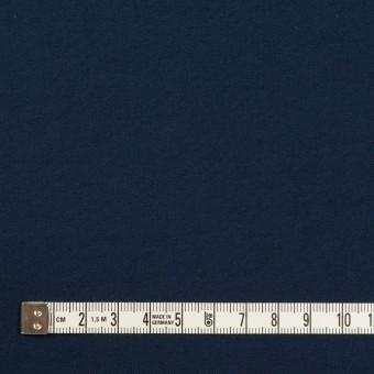 コットン&シルク×無地(ネイビー)×二重織 サムネイル4