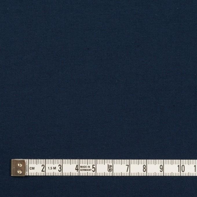 コットン&シルク×無地(ネイビー)×二重織 イメージ4