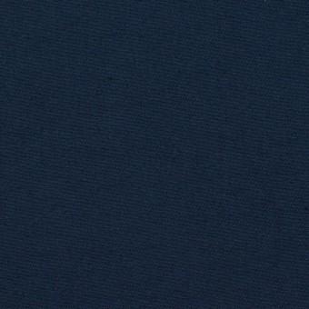 コットン&シルク×無地(ネイビー)×二重織