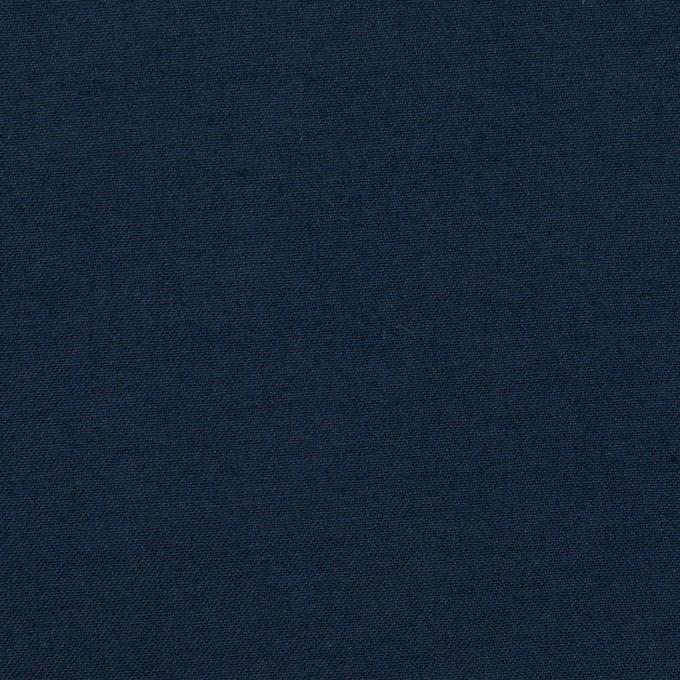 コットン&シルク×無地(ネイビー)×二重織 イメージ1