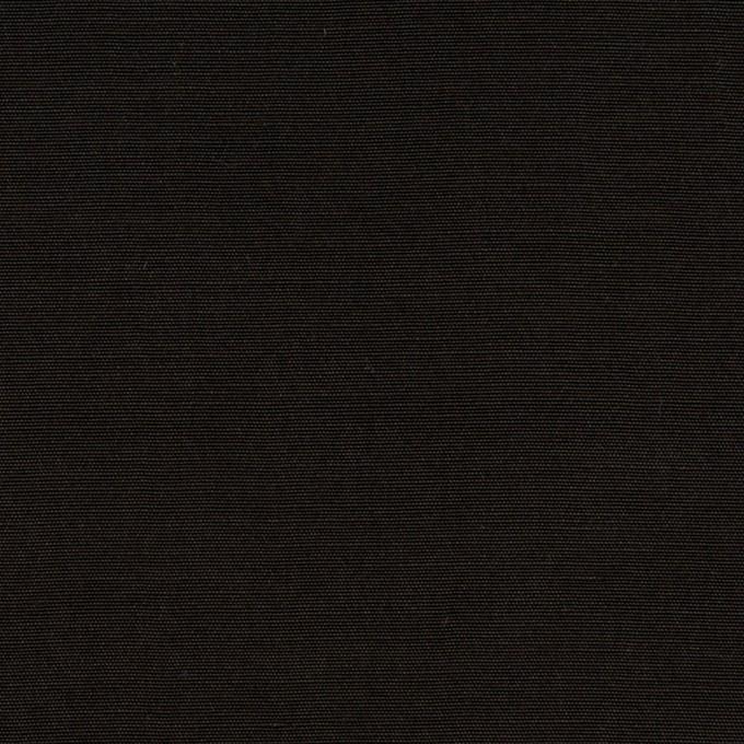コットン&シルク×無地(ブラック)×ポプリン イメージ1