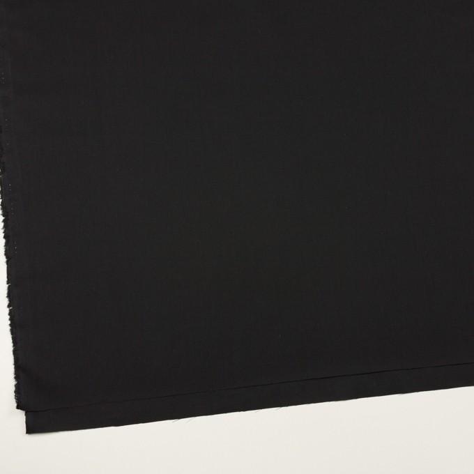 コットン×無地(ブラック)×ローン イメージ2