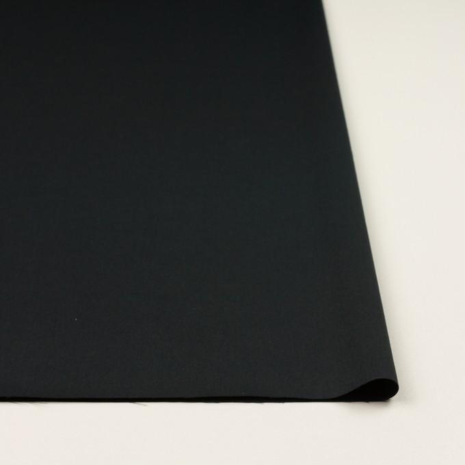 コットン&リヨセル×無地(チャコールブラック)×サテン イメージ3