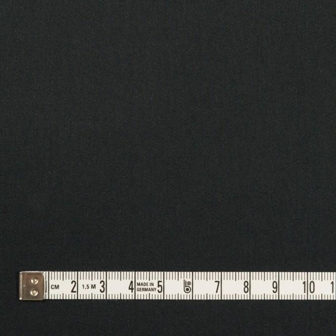 コットン&リヨセル×無地(チャコールブラック)×サテン イメージ4