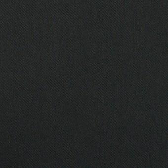 コットン&リヨセル×無地(チャコールブラック)×サテン