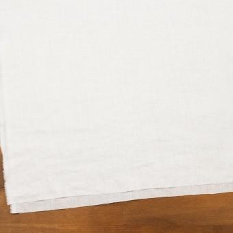 リネン×無地(ホワイト)×ローン_全10色 サムネイル2