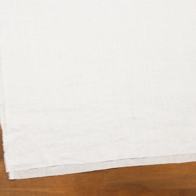 リネン×無地(ホワイト)×ローン_全10色 イメージ2