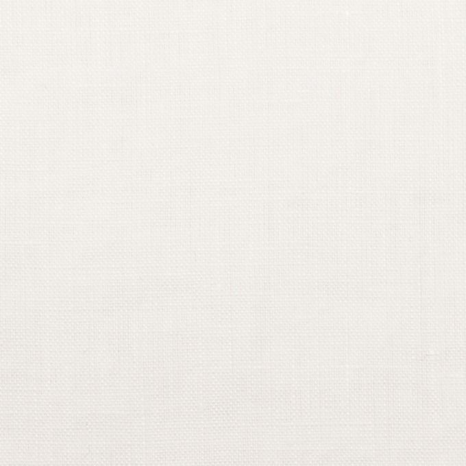 リネン×無地(ホワイト)×ローン_全10色 イメージ1