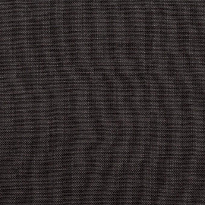 リネン×無地(チャコール)×ローン_全10色 イメージ1