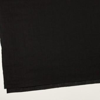 リネン×無地(ブラック)×ローン_全10色 サムネイル2