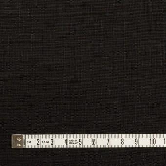 リネン×無地(ブラック)×ローン_全10色 サムネイル4