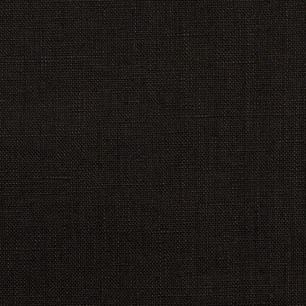 リネン×無地(ブラック)×ローン_全10色