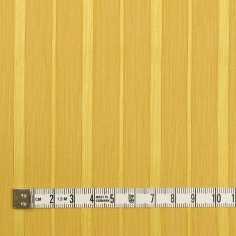 ポリエステル×ストライプ(イエローゴールド)×クレープジョーゼット・ジャガード サムネイル4