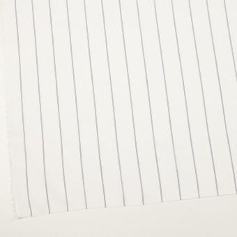コットン&テンセル×ストライプ(ホワイト)×ローン_全2色 サムネイル2