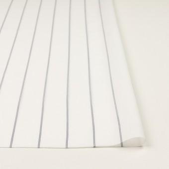 コットン&テンセル×ストライプ(ホワイト)×ローン_全2色 サムネイル3
