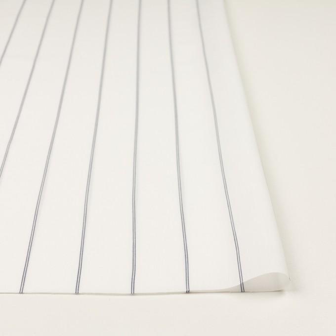 コットン&テンセル×ストライプ(ホワイト)×ローン_全2色 イメージ3