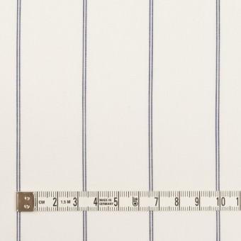 コットン&テンセル×ストライプ(ホワイト)×ローン_全2色 サムネイル4